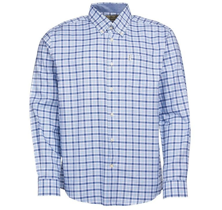 Barbour Abberton Shirt - Blue