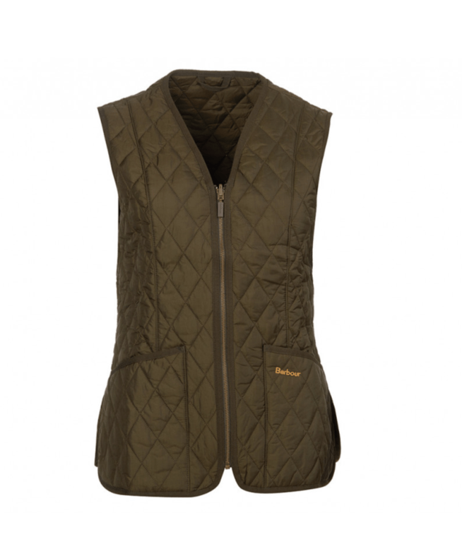 Barbour Betty Interactive Liner - Dk Olive