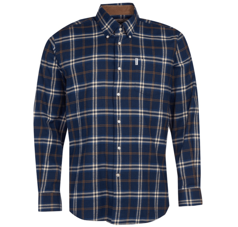 Barbour Country Check 20 Shirt  - Blue