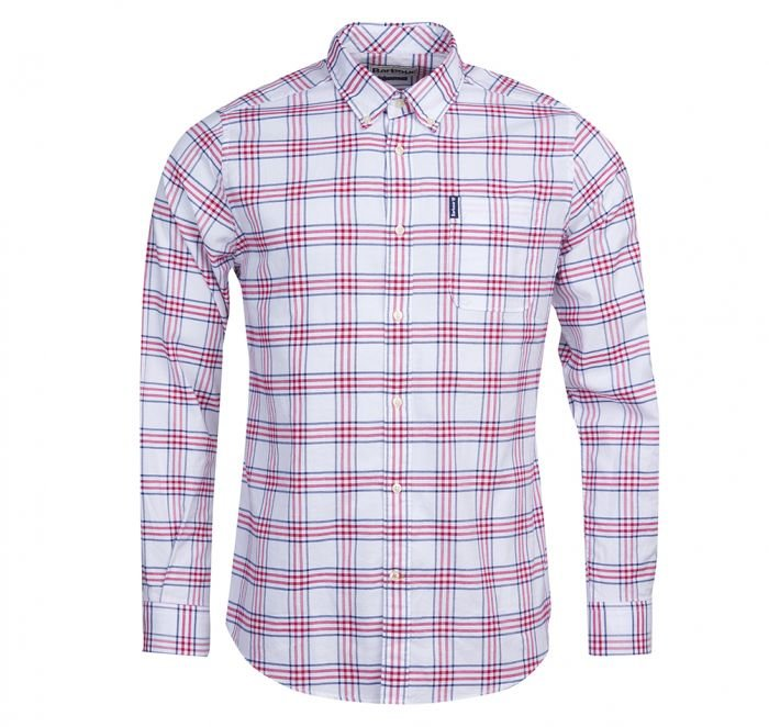 Barbour Country Check 8 Shirt - Red
