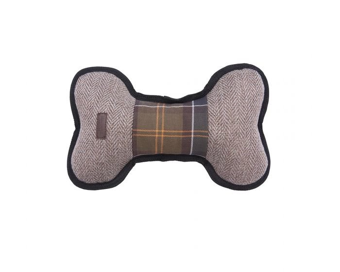 Barbour Dog Toy Bone - Bone