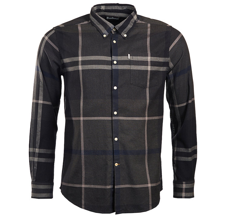 Barbour Dunoon Shirt - Graphite