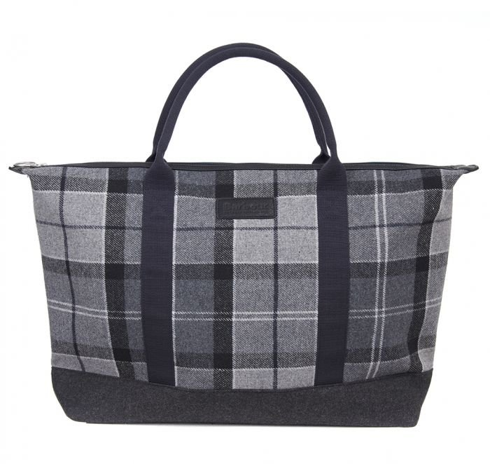 Barbour Elgin Holdall - Grey/ Black
