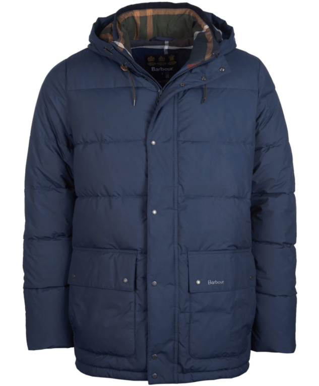 Barbour Entice Baffle Jacket - Navy