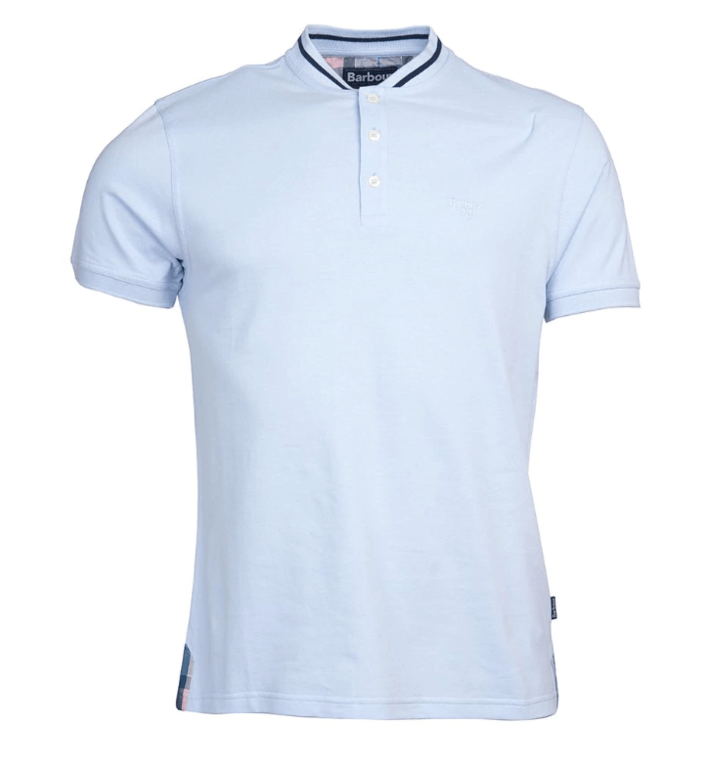 Barbour Galloch Sports Collar Polo Shirt - Heritage Blue