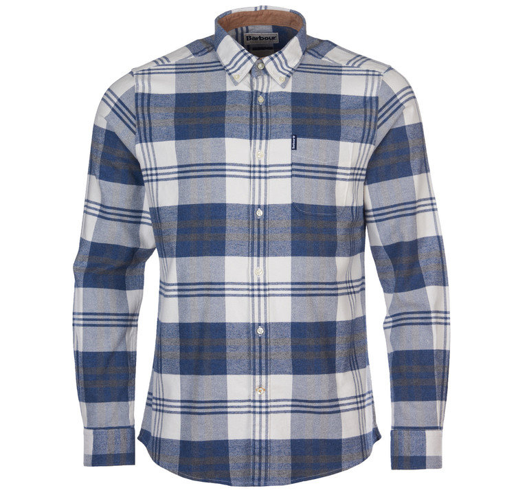 Barbour Highland Check 16 Tailored - Blue