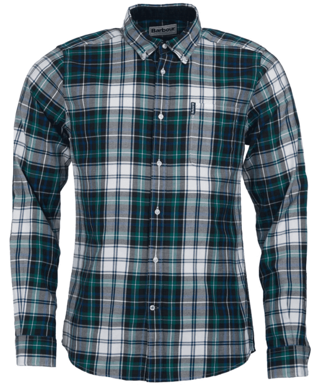 Barbour Highland Check 20 Tailored - Green
