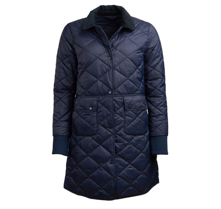 Barbour Jedburgh Quilt - Navy