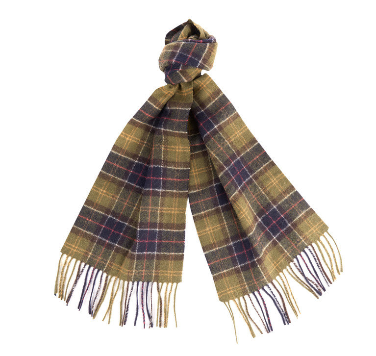 Barbour Lambswool Scarf - Classic