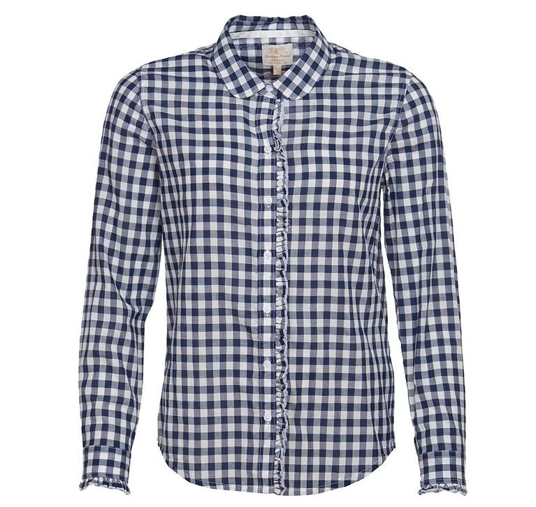 Barbour Mill Shirt - Navy/White