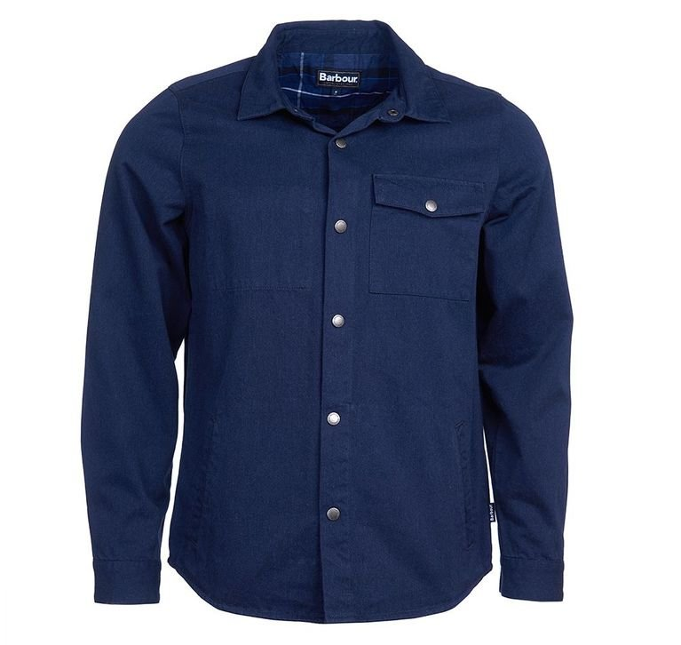 Barbour Mortan Over Shirt - Inky