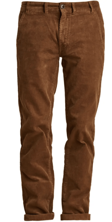 Barbour Neuston Stretch Cord Trousers - Honey