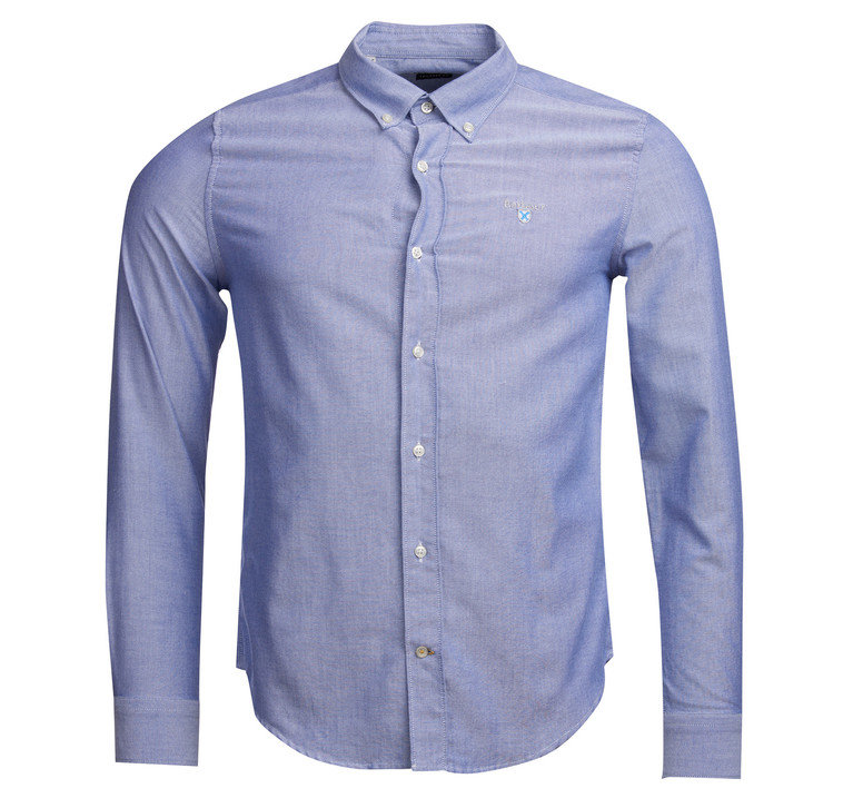 Barbour Oxford 3 Tailored Shirt - Indigo