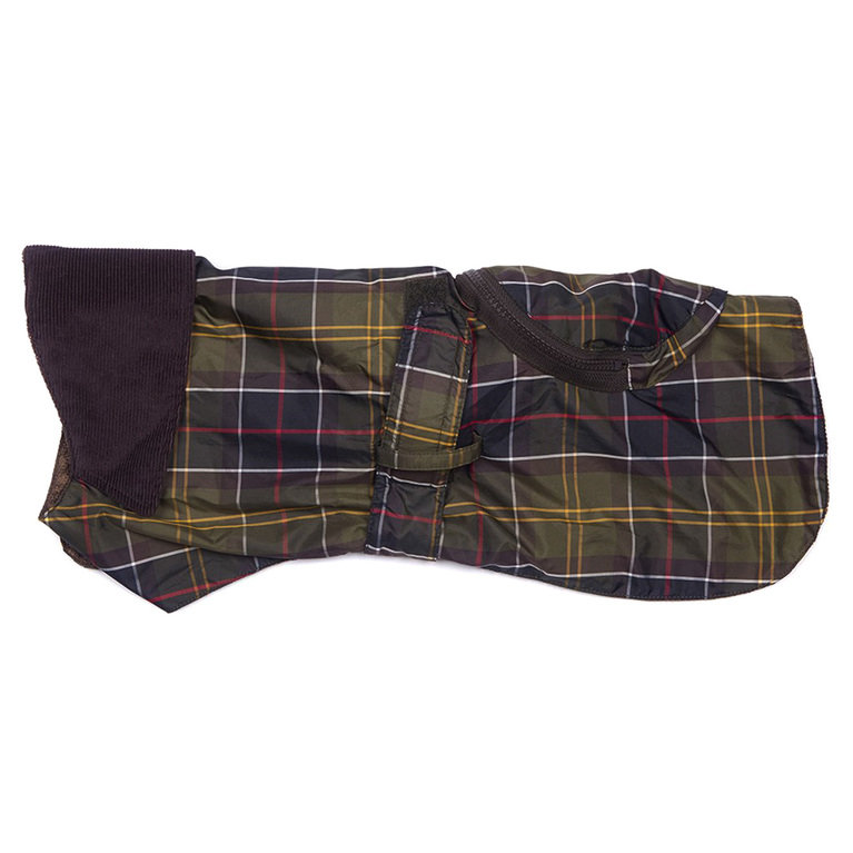 Barbour Pack Away Dog Coat  - Classic Tartan