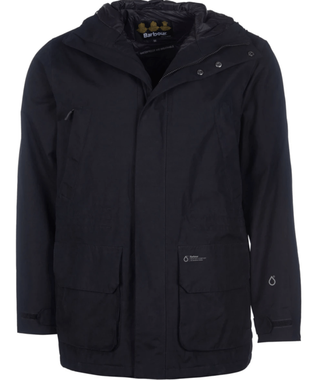 Barbour Pitstone Waterproof Jacket - Black