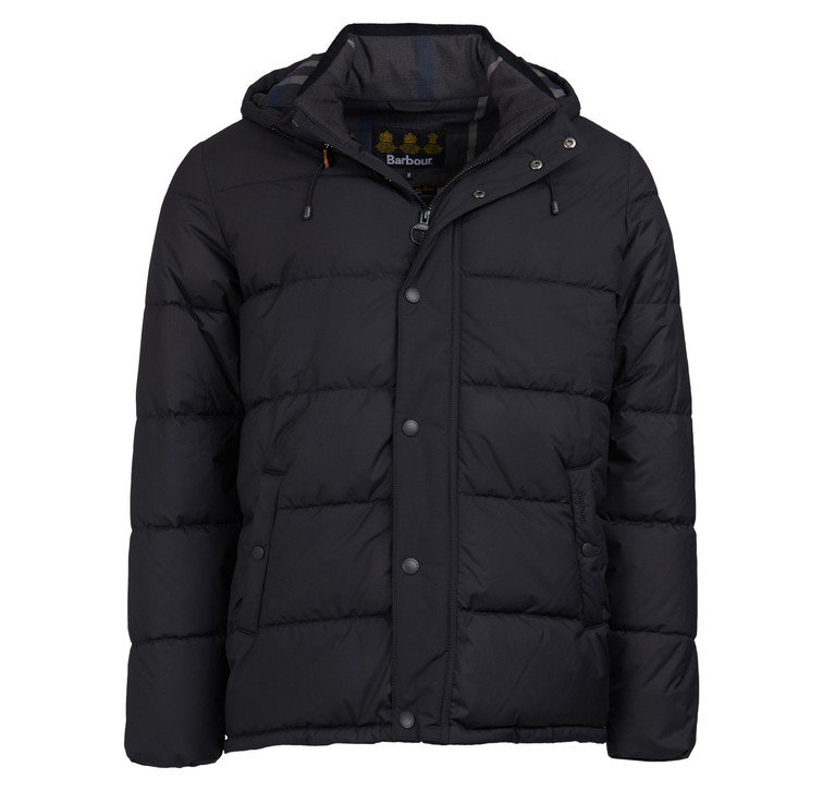 Barbour Beeston Quilt Jacket - Black