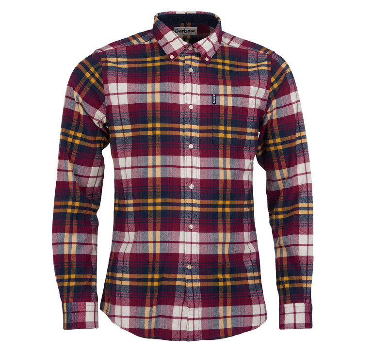 Barbour's Highland Check 19 TF Shirt - Red