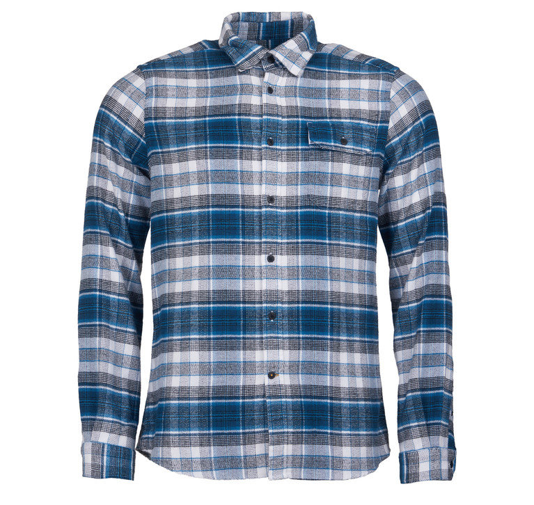 Barbour Shoreham Shirt  - B/Steel