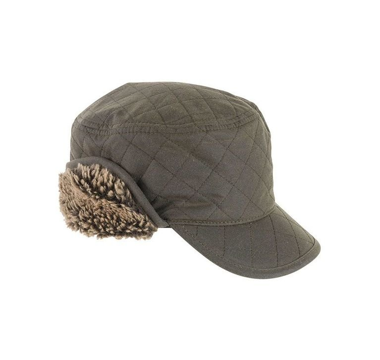 Barbour Stanhope Hunting Cap - Olive