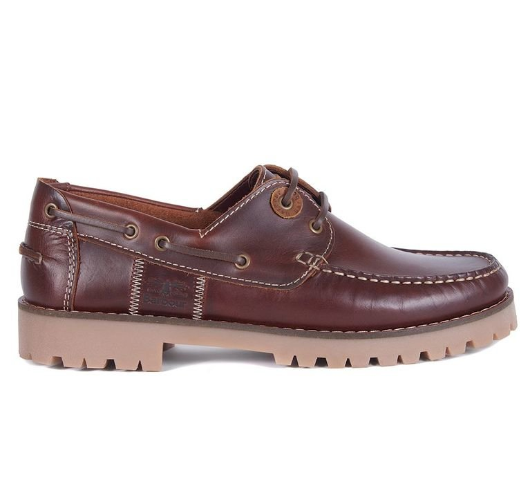 Barbour Stern Boat Shoe  - Mahogany