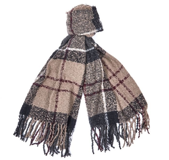 Barbour Tartan Boucle Scarf - Winter