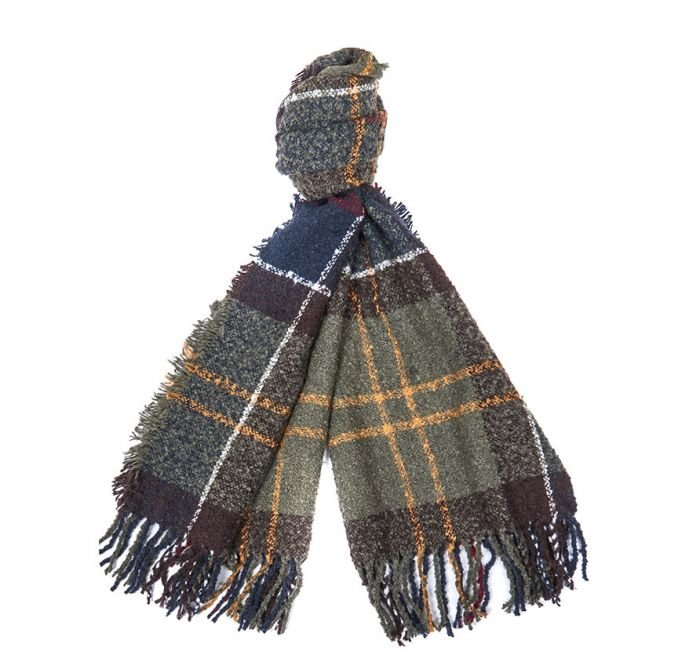 Barbour Tartan Boucle Scarf - Classic