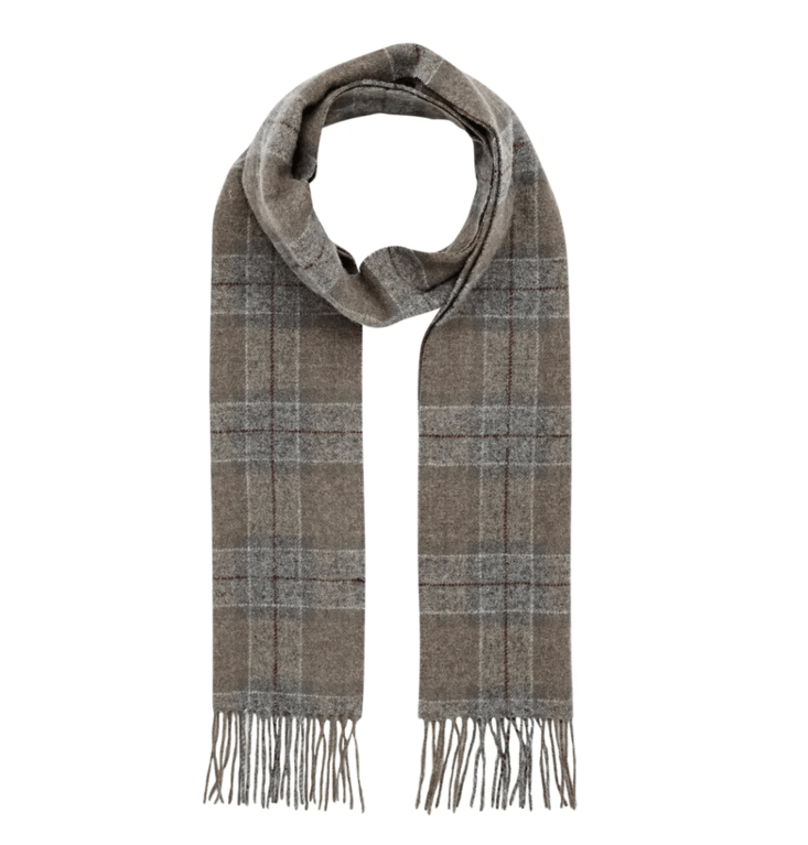Barbour Tartan Lambswool Scarf  - Winter