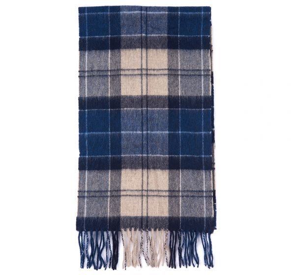 Barbour Tartan Scarf  - Tempest Trench