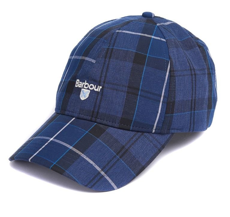 Barbour Tartan Sports Cap  - Ink