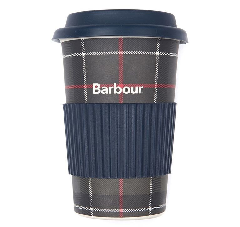 Barbour Tartan Travel Mug - Classic