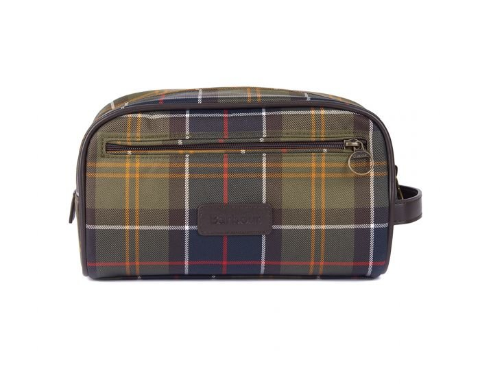 Barbour Tartan Wash Bag - Classic