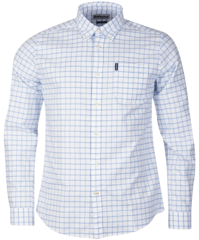 Barbour Tattersall 23 Shirt - Blue