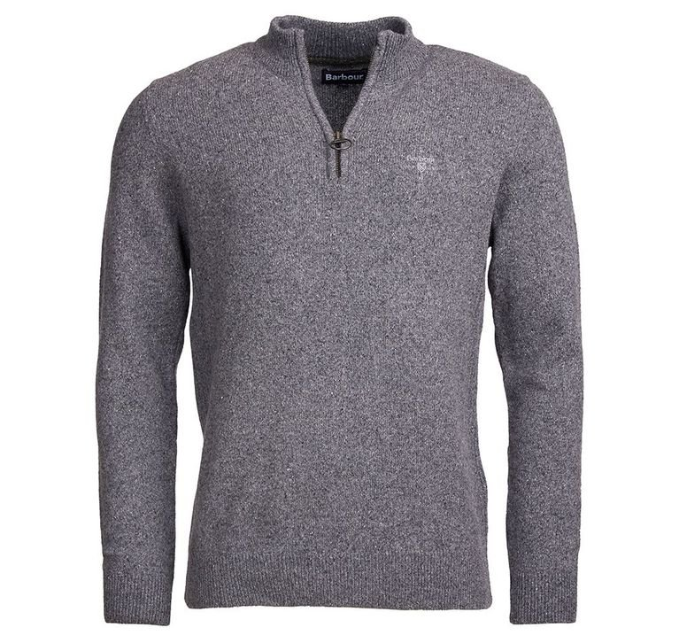 Barbour Tisbury Half Zip  - Grey