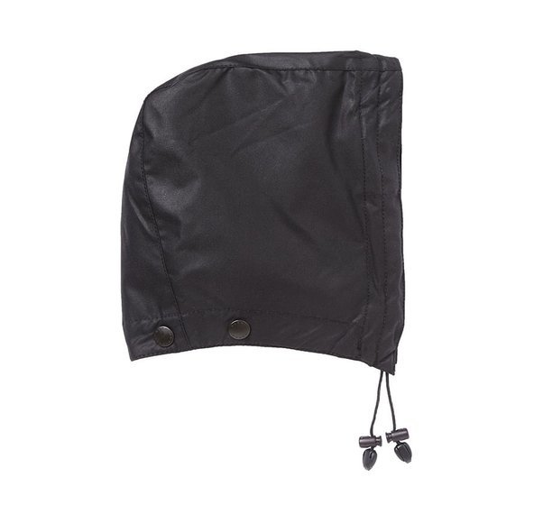Barbour Wax Cotton Hood  - Black
