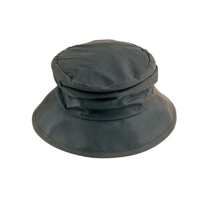 Barbour Wax Ladies Sports Hat - Olive