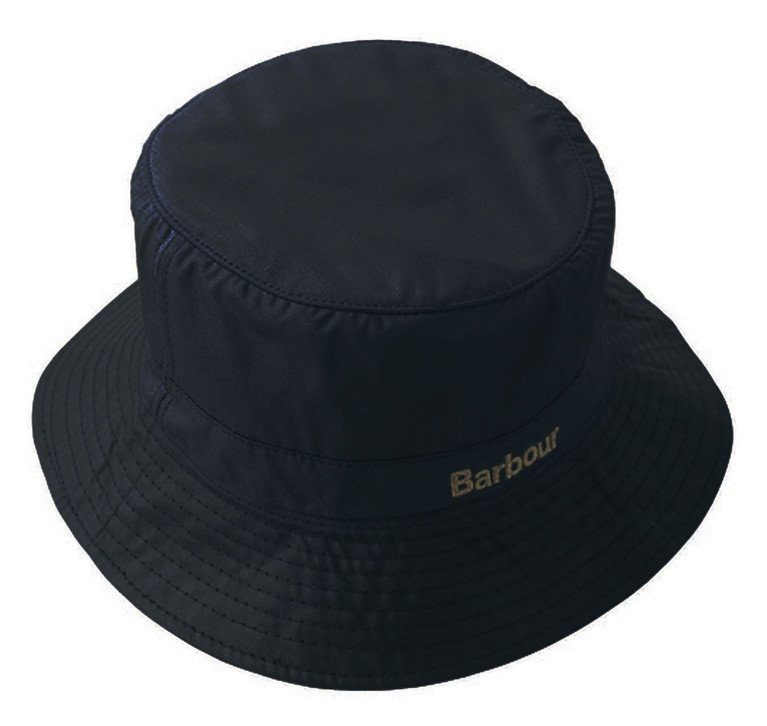 Barbour Wax Sports Hat - Navy