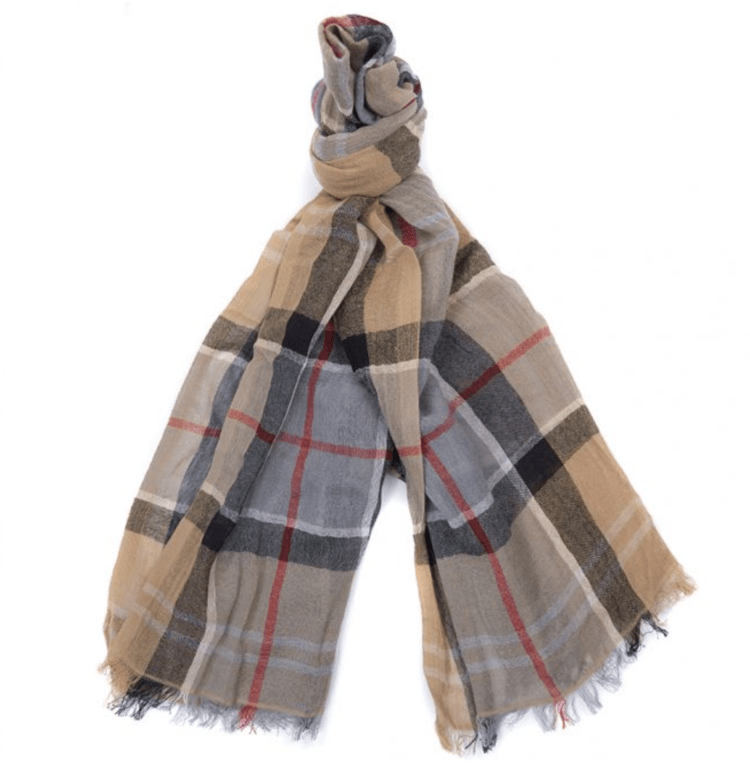 Barbour Welton Tartan Scarf - Dress