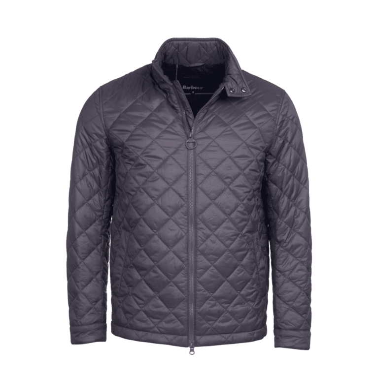 Barbour Woban Quilt Jacket - Charcoal