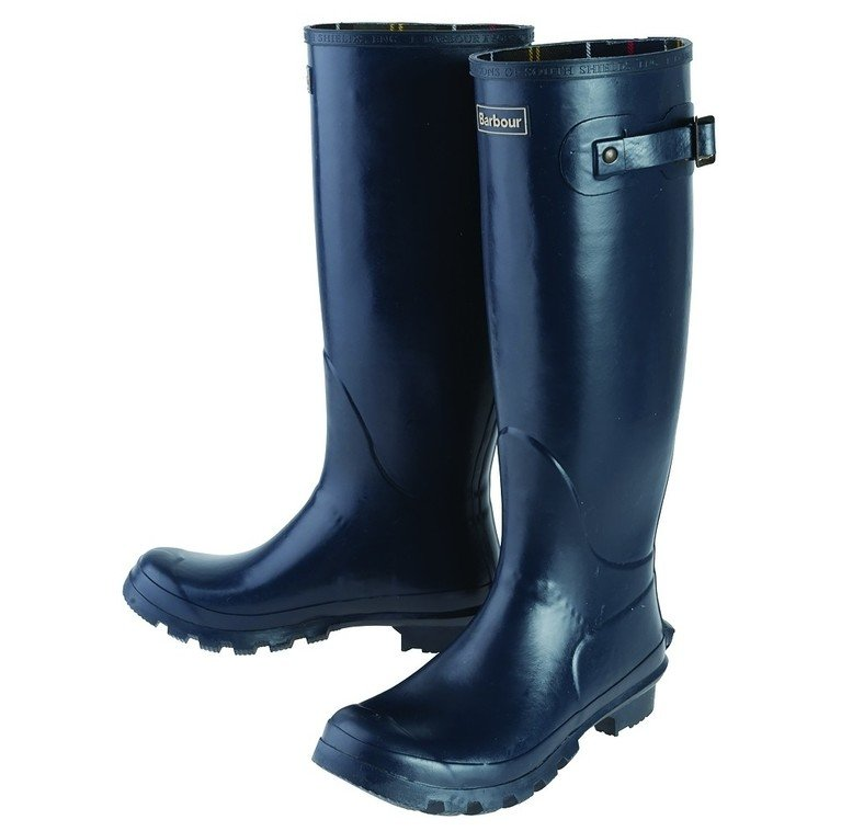 Barbour Women's Bede Welly  - Navy