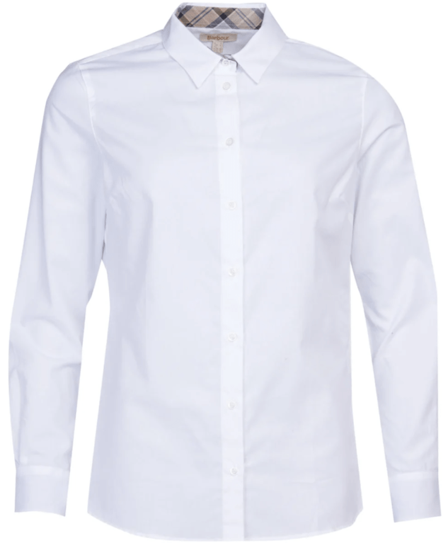 Barbour Women's Derwent Shirt  - White