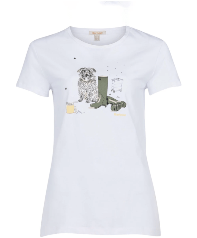 Barbour Women's Rowan Tee  - White