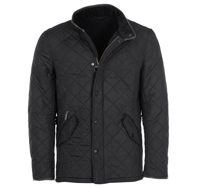 Barbour Powell Quilt - Black