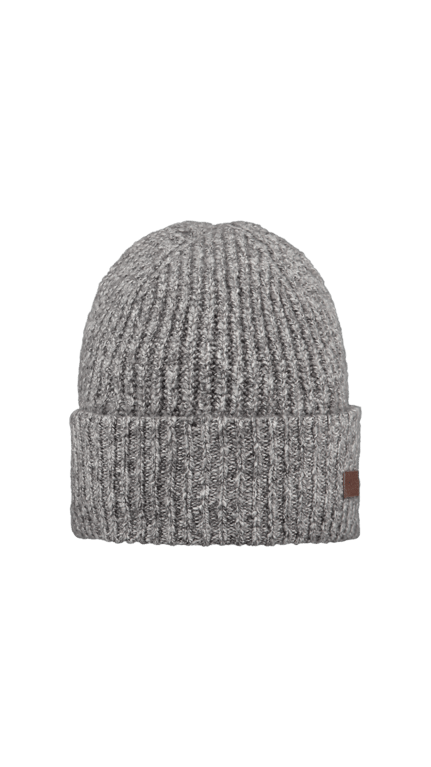 Barts Blacke Beanie  - Heather Grey