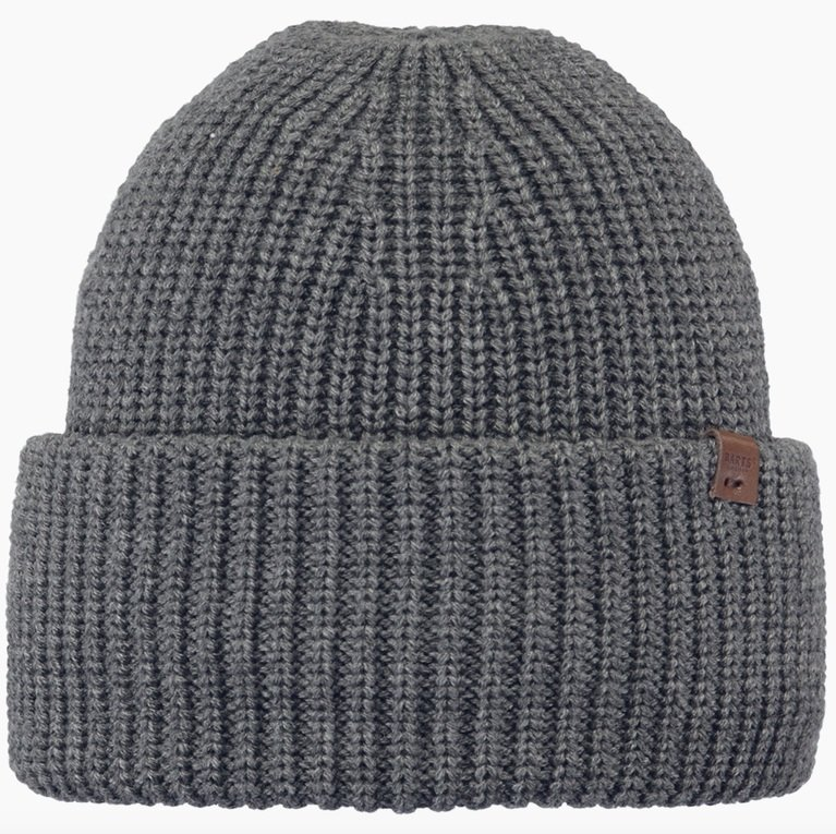 Barts Derval Beanie - Dark Heather