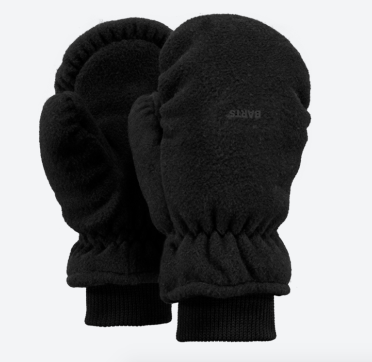 Barts Kids Fleece Mitt - Black