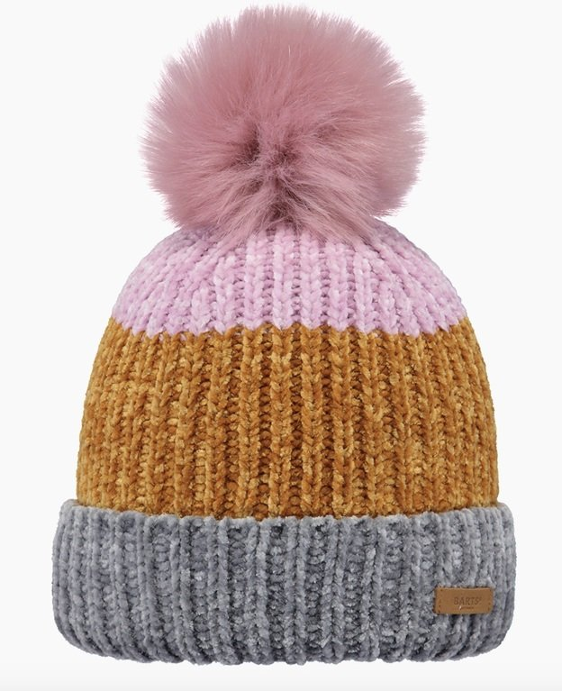 Barts Starflower Girl Beanie - Heather Grey