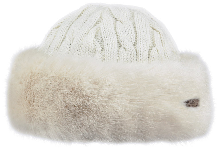 Fur Cable Bandhat - White