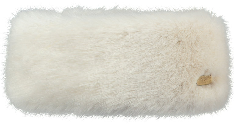 Fur Headband - White