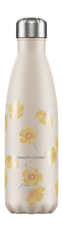 Chilly's Bottle 500ml - Emma Bridgewater Buttercup