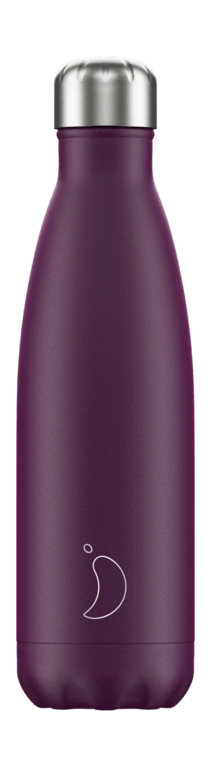 Chilly's Bottle 500ml - Matt Purple